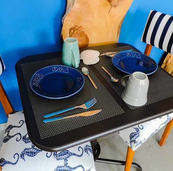 mesa pequeno-almoço