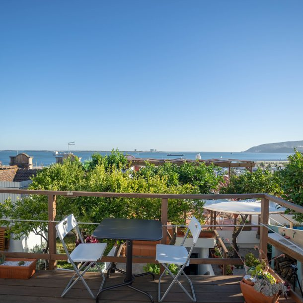 rooftop Marina Blue
